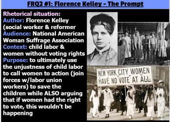 Florence kelley essay