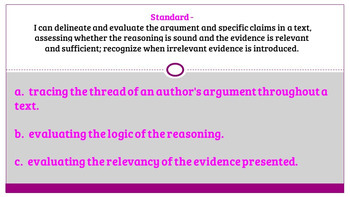 Rhetorical Analysis-Analyzing an Author's Argument