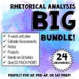 Rhetorical Analysis BIG Bundle Complete Unit
