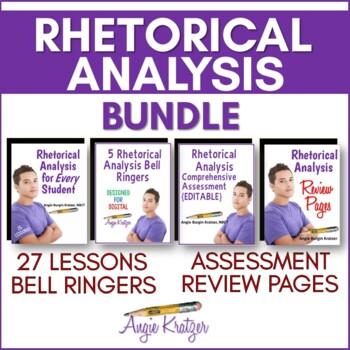 Rhetorical Analysis BUNDLE