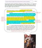 Rhetorical Analysis: British Parliament & the Revolutionary War