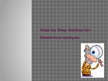 Rhetorical Analysis Essay Guide