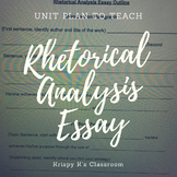 Rhetorical Analysis Essay Packet