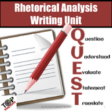 Rhetorical Analysis Essay Writing Unit