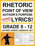 Rhetorical Analysis Ethos Logos Pathos with Song Lyrics: N