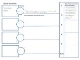 Rhetorical Analysis Graphic Organizer AP Language pdf version