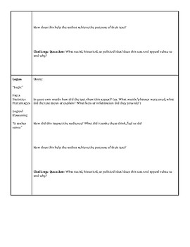 Rhetorical Analysis Activity: Hitler's Speech Feb. 1941 (Common Core RI.9-12.6)