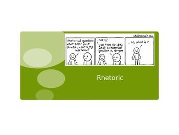 Rhetorical Analysis Power Point