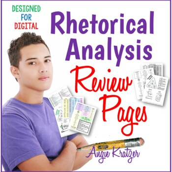 Rhetorical Analysis Review Pages {Distance Learning}