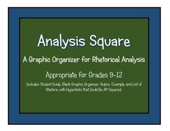 Rhetorical Analysis ( Graphic Organizer)