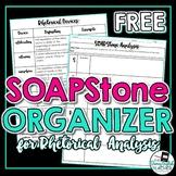 Rhetorical Analysis SOAPStone Organizer and Rhetorical Dev