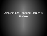 Rhetorical Analysis - Satire Overview (AP Language)