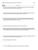 Rhetorical Analysis Self Evaluation and Editing Sheet