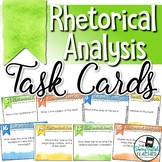 Rhetorical Analysis Task Cards for Any Text