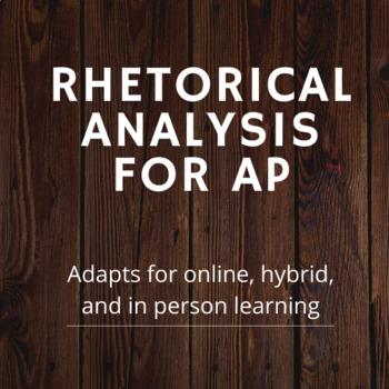 Rhetorical Analysis Unit