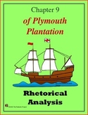 Rhetorical Analysis of Excerpt from Of Plymouth Plantation, Chapter 9