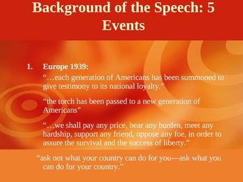 Rhetorical Analysis of John F. Kennedy's Inaugural Speech
