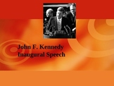 Rhetorical Analysis of John F. Kennedy's Inaugural Speech