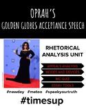 Rhetorical Analysis of Oprah's Speech