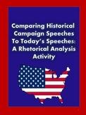 Rhetorical Analysis of Political Speeches
