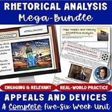 Rhetorical Appeals & Devices Mega Bundle: A Complete Rhetorical Analysis Unit