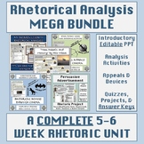 Rhetorical Appeals & Devices Mega Bundle: A Complete Rheto