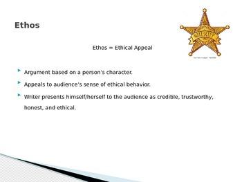 Rhetorical Appeals Intro PPT