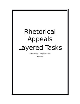 Rhetorical Appeals Layered Tasks
