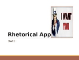 Rhetorical Appeals PPT