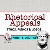 Rhetorical Appeals:  PowerPoint, Activities & Handouts (Ethos, Pathos & Logos)
