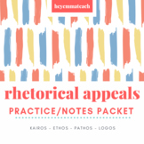 Rhetorical Appeals Practice and Notes Packet