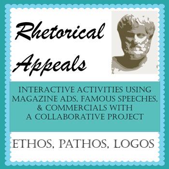 Ethos Pathos Logos Ads Worksheets & Teaching Resources | TpT