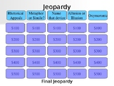 Rhetorical Appeals and Devices Jeopardy Game