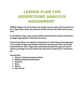 Rhetorical Devices Argument Analysis Unit Resources