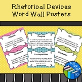 Rhetorical Devices Word Wall Posters