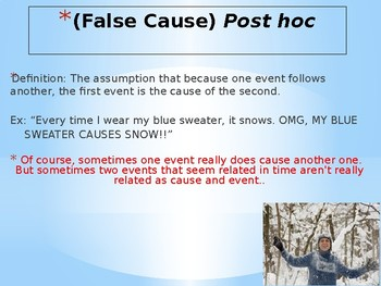 Rhetorical Fallacy