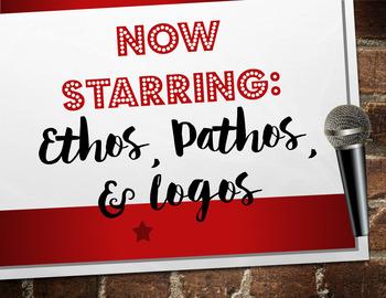 Rhetorical/Persuasive Appeals: Ethos Pathos & Logos PowerPoint & BONUS Bookmarks