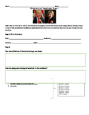 Rhetorical/Persuasive Strategies RAFT Presidential Candida