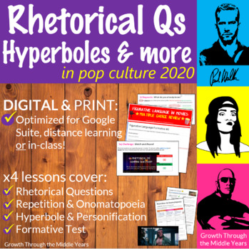 Rhetorical Questions and Foreshadowing: Figurative Language