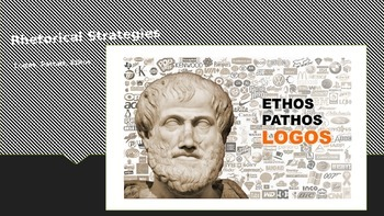 Rhetorical Strategies Ethos, Pathos, Logos PowerPoint