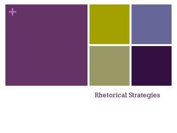 Rhetorical Strategies Presentation