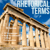 Rhetorical Terms Presentation and Posters