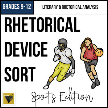Rhetorical Triangle Word and Example Sort: Sports Edition