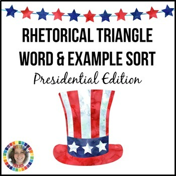 Rhetorical Triangle and Device Sort Bundle: Rhetorical Appeals and Terms