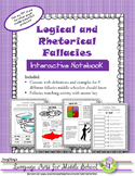 Rhetorical and Logical Fallacies Interactive Notebook Activity