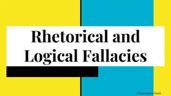 Rhetorical and Logical Fallacies Powerpoint