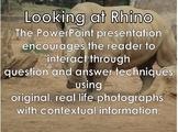 Rhino - Interactive PowerPoint presentation including vide