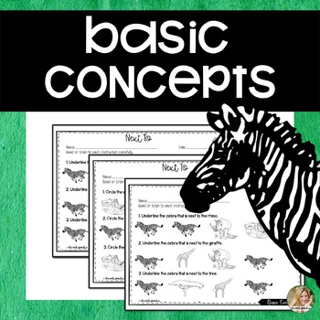 Basic Concepts | Basic Concepts Speech Therapy