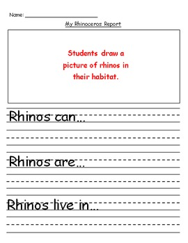 Rhinoceros Explanatory Text Writing
