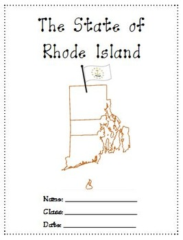 Rhode Island A Research Project